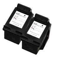 Sophia Global Remanufactured Ink Cartridge Replacement for HP 60XL (2 Black)