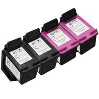 Sophia Global Remanufactured Ink Cartridge Replacement for HP 60 (2 Black, 2 Color)
