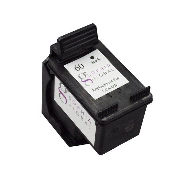 Sophia Global Remanufactured Ink Cartridge Replacement for HP 60 (1 Black)