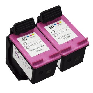 Sophia Global Remanufactured Ink Cartridge Replacement for HP 60 (2 Color)