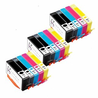 Sophia Global Remanufactured Ink Cartridge Replacement for HP 564XL (3 Black, 3 Photo Black, 3 Cyan, 3 Magenta, and 3 Yellow)