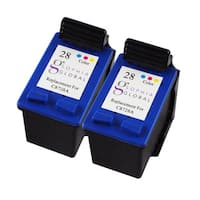 Sophia Global Remanufactured Ink Cartridge Replacement for HP 28 (2 Color)