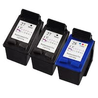 Sophia Global Remanufactured Ink Cartridge Replacement for HP 27 and HP 28 (2 Black, 1 Color)