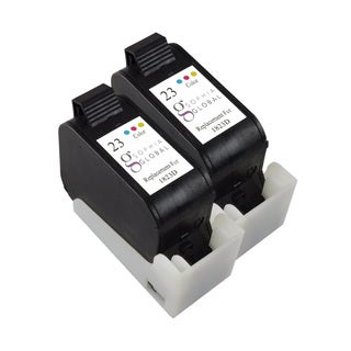 Sophia Global Remanufactured Ink Cartridge Replacement for HP 23 (2 Color)