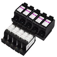 Sophia Global Remanufactured Ink Cartridge Replacement for HP 45 and HP 78 (5 Black, 5 Color)