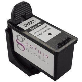 Sophia Global Remanufactured Ink Cartridge Replacement for Dell CH883 Series 7 (1 Black)