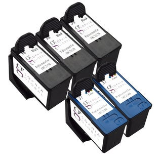 Sophia Global Remanufactured Ink Cartridge Replacement for Lexmark 36 37 (3 Black, 2 Color)