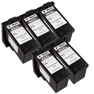 Sophia Global Remanufactured Ink Cartridge Replacement for Lexmark 44XL (5 Black)
