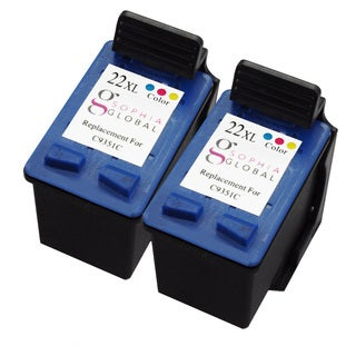 Sophia Global Remanufactured Ink Cartridge Replacement for HP 22XL (2 Color)