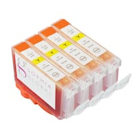Sophia Global Compatible Ink Cartridge Replacement for Canon BCI-6 (4 Yellow)