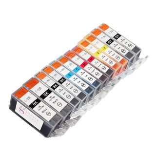 Sophia Global Compatible Ink Cartridge Replacement for Canon PGI-220 and CLI221 (12 Pack)