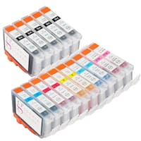 Sophia Global Compatible Ink Cartridge Replacement for Canon BCI-6 (15 Pack)