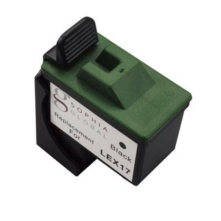 Sophia Global Remanufactured Ink Cartridge Replacement for Lexmark 17 (1 Black)