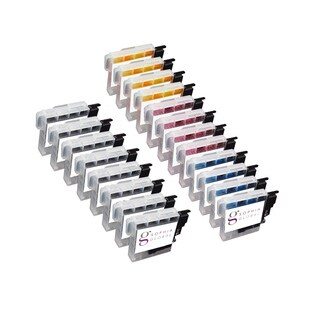 Sophia Global Compatible Ink Cartridge Replacement for Brother LC61 (8 Black, 4 Cyan, 4 Magenta, 4 Yellow)