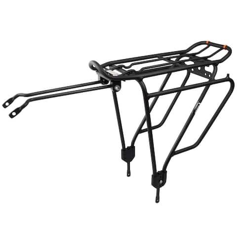 Ibera Bike PAKRAK Touring Carrier Plus+ Rack for Heavier Loads - Black
