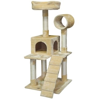Link to Go Pet Club 50-inch Pressed Wood Cat Tree Condo Similar Items in Cat Furniture