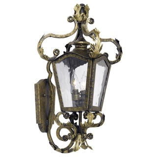 Acadiana 2-light Castle Bronze Outdoor Wall Sconce