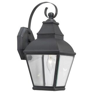 Bristol 1-light Charcoal Outdoor Wall Lantern