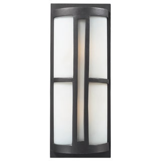 Trevot 2-light LED Graphite Outdoor Wall Sconce