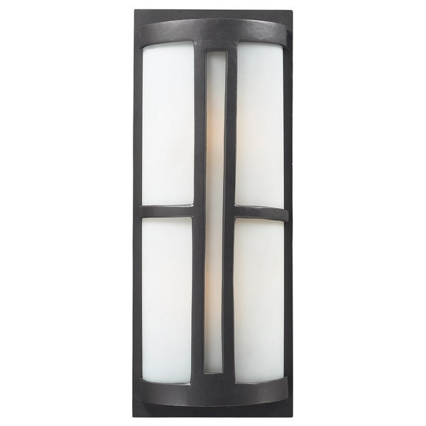 Trevot 2-light LED Graphite Outdoor Wall Sconce - Free Shipping ...