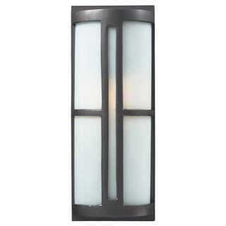 Trevot 1-light LED Graphite Outdoor Wall Sconce