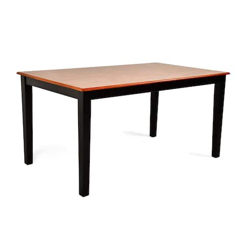 Copper Grove Harbour Two-tone 60-inch Dining Table