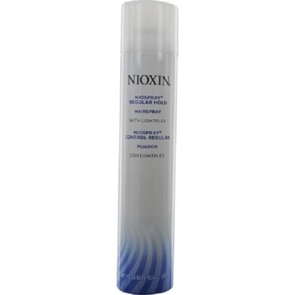 Nioxin Niospray Regular Hold 10.6-ounce Hairspray with Lightplex