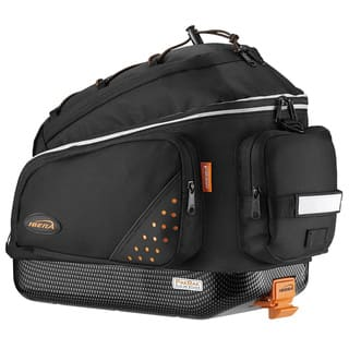 Ibera IB-BA1 Bike PakRak Clip-On and Quick-Release Commuter Trunk Bag|https://ak1.ostkcdn.com/images/products/8865848/P16092369.jpg?impolicy=medium