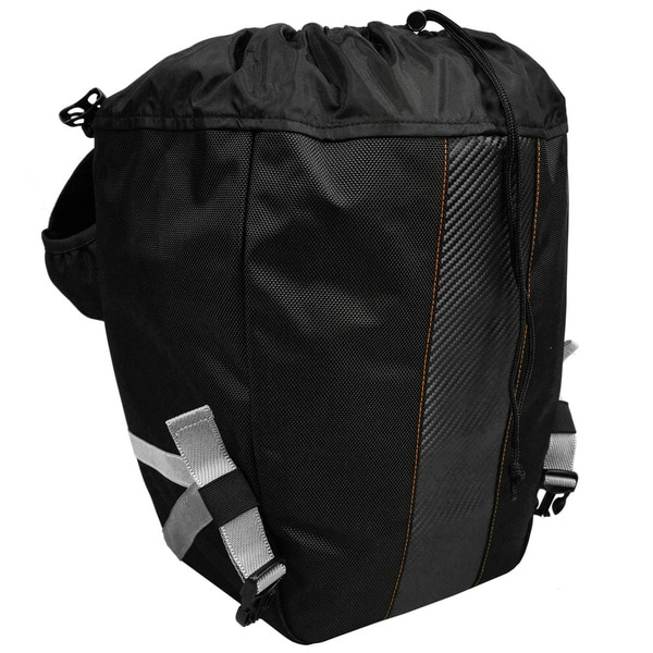 Pair Ibera Bicycle Bag PakRak Clip-On Quick-Release All Weather Bike Panniers ,