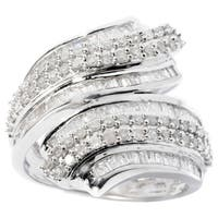 Sterling Silver 1ct TDW Diamond Ring