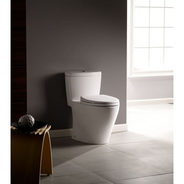 Toto Aquia One-Piece Elongated Dual-Max, Dual Flush 0.9 & 1.6 GPF ...