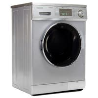 Equator 13 lb Silver Convertible Combo Washer Dryer with Optional Venting/ Condensing Drying