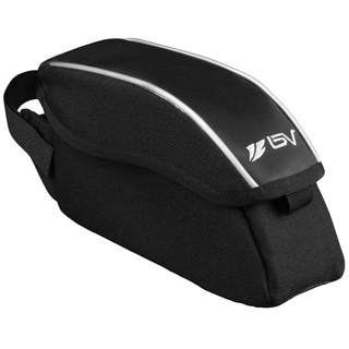 BV Bike Wedge Frame Top Tube Bag with Flip-Top Opening