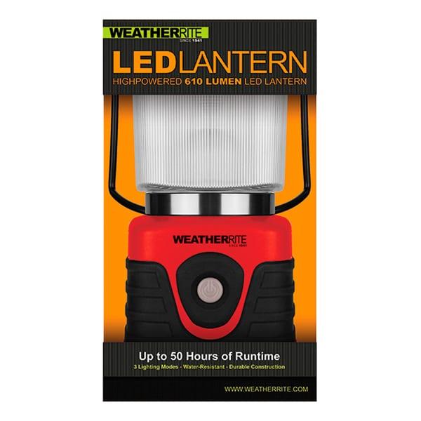 Nebo Tools Weatherrite 610 Lumen Lantern