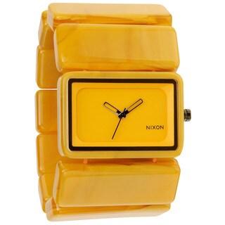 Nixon Women's Vega A726 Goldenrad Marble Watch