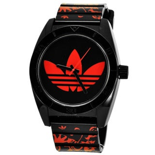 Adidas Men's Candy Black/ Red Watch