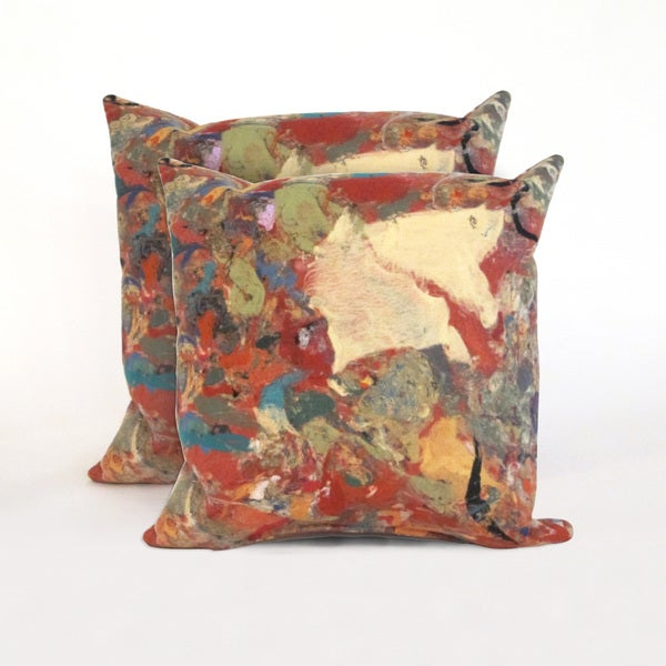 Quarry Indoor/Outdoor 18 in Throw Pillows (Set of 2)