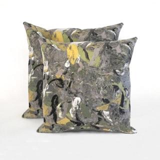 Quarry Indoor/Outdoor 18 in Throw Pillows (Set of 2)