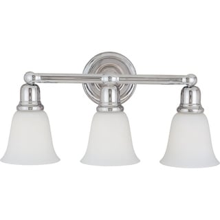 Maxim Bel Air 3-light Vanity Chrome Fixture