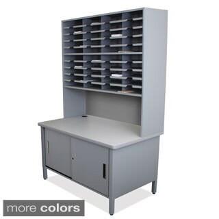 Marvel 40-slot Sorter/ Riser Mailroom Organizer Cabinet