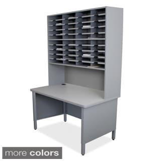 40-slot Riser Mailroom Organizer