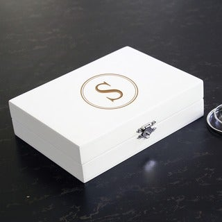 Shop Personalized Jewelry Box White Free Shipping On