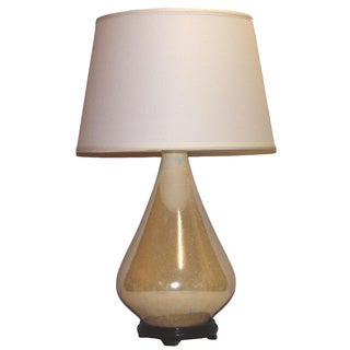 Crown Lighting 1-light Ivory Pearlized Table Lamp