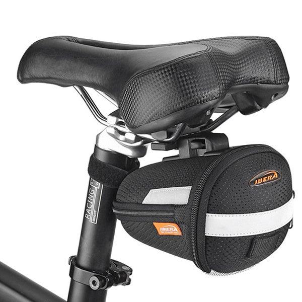 Ibera Bike Clip-on Expandable Saddle Seat Pak Bag