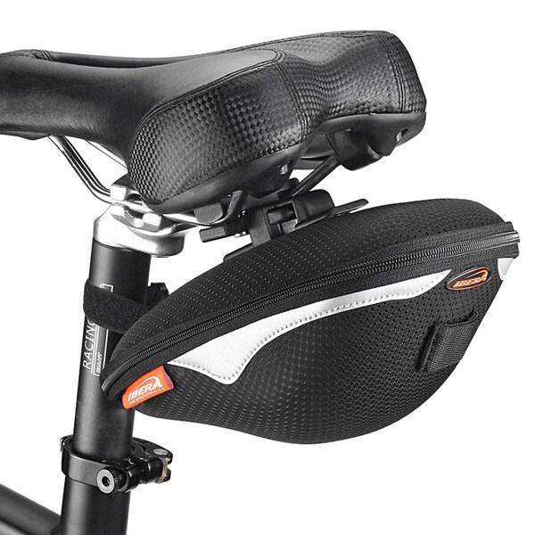 Ibera IB-SB8 Bike Clip-On 1.5-liter Saddle Seat Pack Bag
