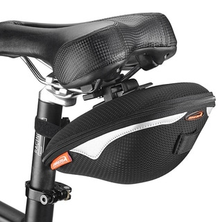 Ibera IB-SB8 Bike Clip-On 1.5-liter Saddle Seat Pack Bag