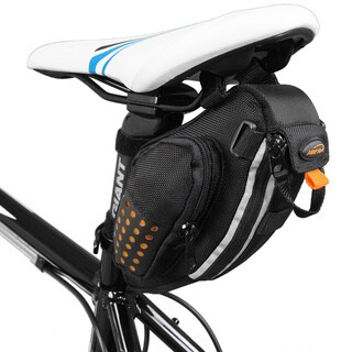 Ibera IB-SB3 Water Resistant Bike Strap-On Saddle Seat Pack Bag