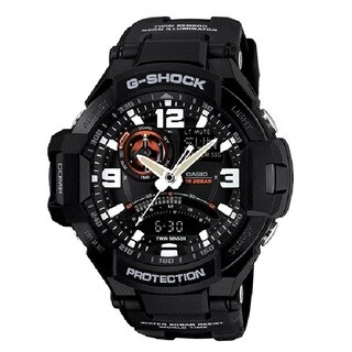 Casio G-Shock GA-1000-1A Aviation Analog/ Digital Watch Black