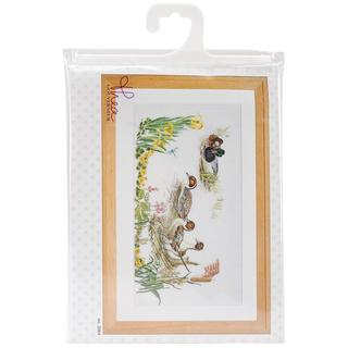 Ducks On Aida Counted Cross Stitch Kit - 25-1/2 X13-1/2 18 Count