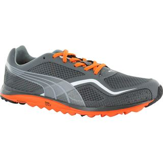 Puma Mens Spikeless Faas Lite Mesh Vibrant Orange/ White Golf Shoes